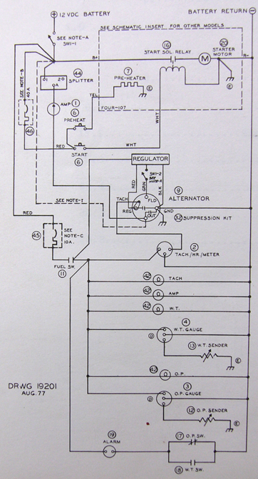 (above) left-hand side of page q 2 of schematic in tartan tech manual